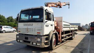RENAULT G 230 Manager Full Spring Crane Atlas 13m. Long camión caja abierta