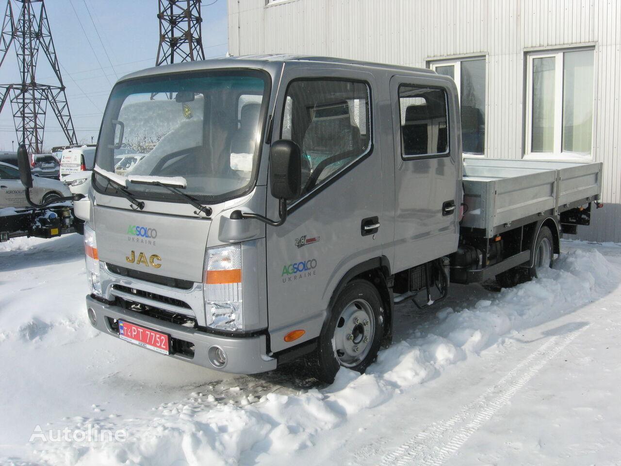 JAC N56 camión caja abierta nuevo