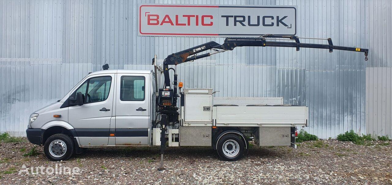 MERCEDES-BENZ Sprinter 4x4 + HIAB CRANE camión caja abierta