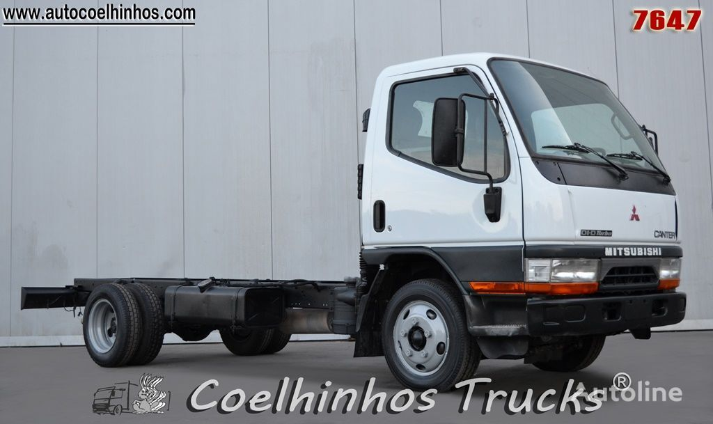 camión chasis MITSUBISHI Canter FE534 DiD-Turbo
