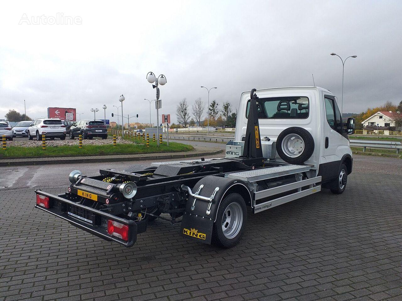 IVECO 50C14NZ Gazowiec CNG camión con gancho nuevo