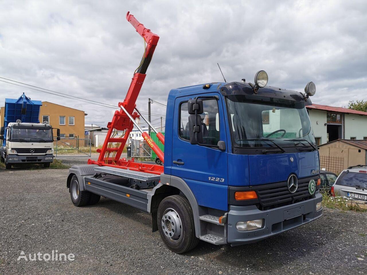 MERCEDES-BENZ Atego 1223 nowy hakowiec KING HZ10 camión con gancho