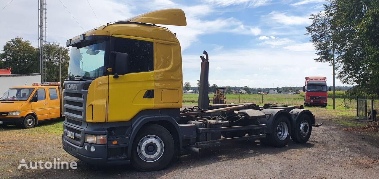 SCANIA R380 camión con gancho