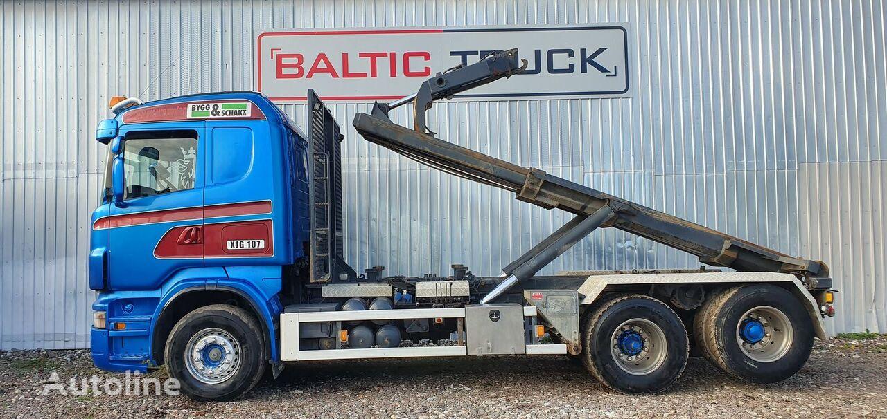 SCANIA R470 camión con gancho