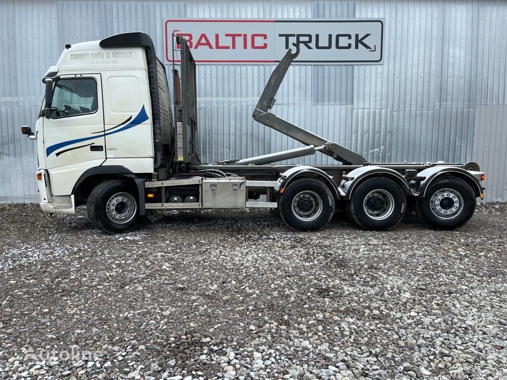 VOLVO FH12 460, 8x4 HOOKLIFT camión con gancho