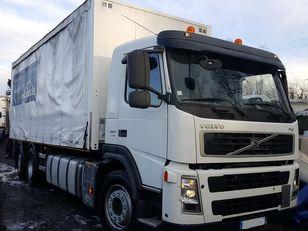 VOLVO FM 380 6X2 + hiab 144 BS 2 HI DUO camión con lona corredera