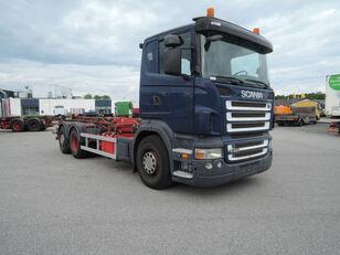 SCANIA R420 camión con sistema de cables