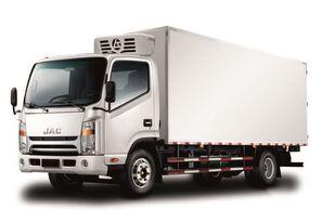 JAC Изотермический фургон с ХОУ JAC N 80 camión frigorífico nuevo