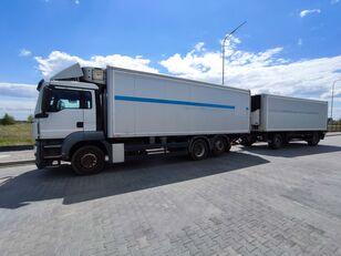 MAN TGS TGS 26 320 camión frigorífico + remolque