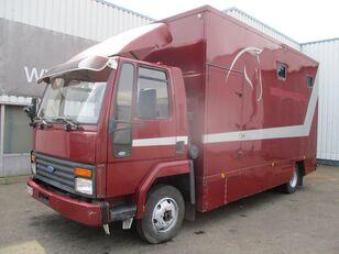 FORD Cargo 0811 , Belgium Horse Truck camión furgón