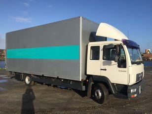 MAN LE 8.220, 1. Bett ,AHK , Box 6,50 m  TOP - Condition   camión furgón