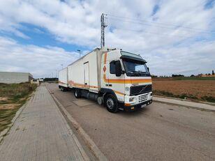 VOLVO FH12 380 camión furgón + remolque