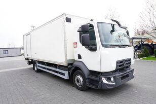 RENAULT D12 , E6 , 4x2 , Box 18 EPAL side door  , tail lift Dhollandia , camión furgón