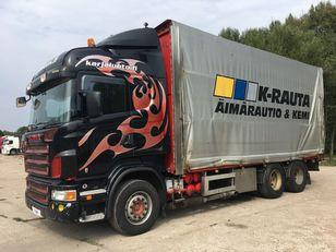 SCANIA R500 6x4 Manual camión furgón