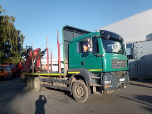 MAN-VW TGA 33.480 camión maderero