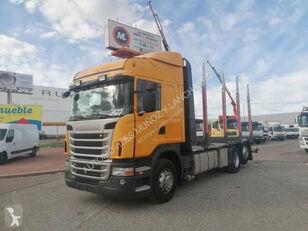 SCANIA 420 camión maderero