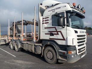SCANIA R560 camión maderero