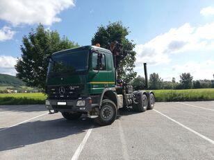 MERCEDES-BENZ Actros 3344 camión maderero