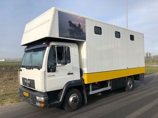 MAN LE8-180 camión para caballos