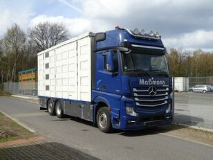 MERCEDES-BENZ Actros 2551 6x2  camión para transporte de ganado