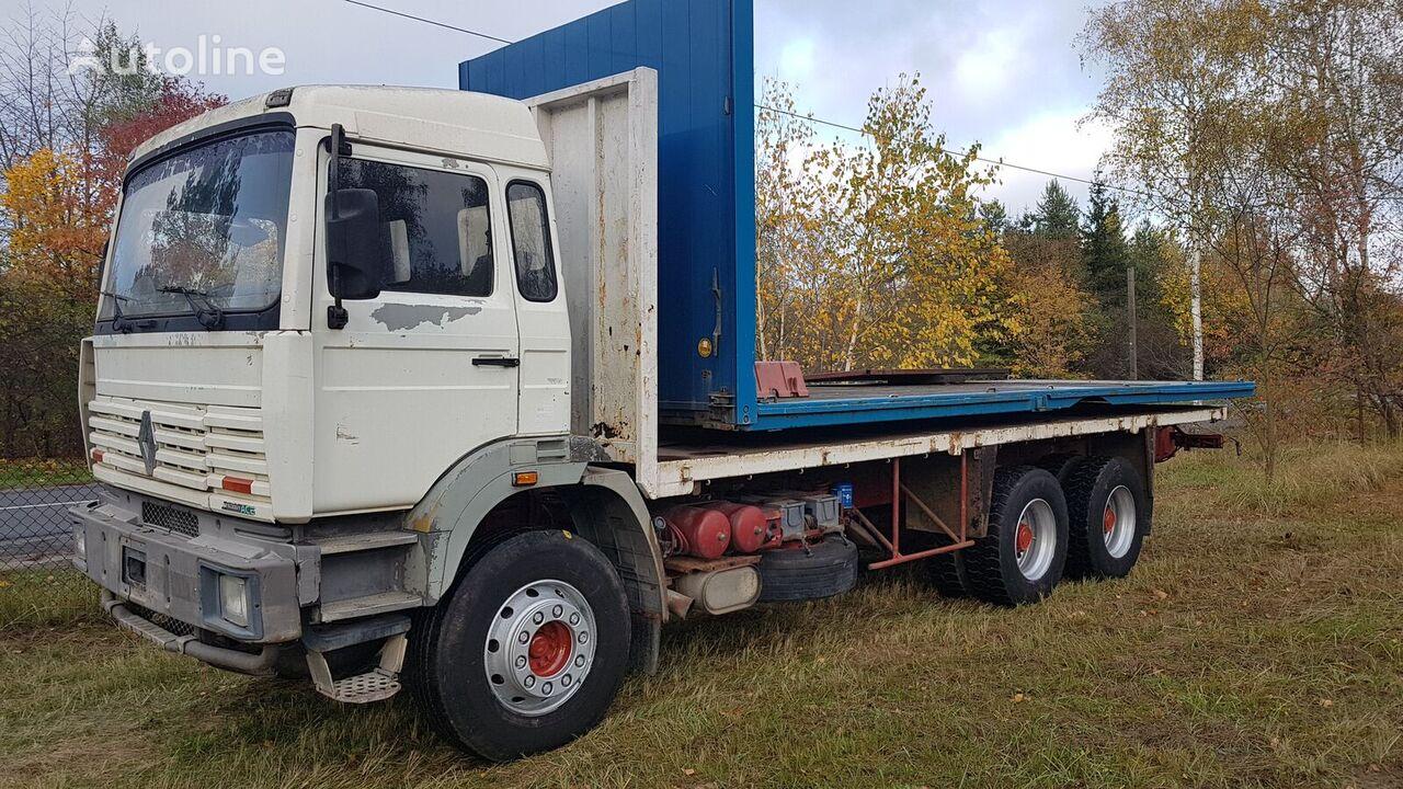 RENAULT G300 6x4 Steel/Steel (G340/Maxter/Magnum/Major/385/420/430) camión plataforma