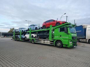 MAN TGS camión portacoches