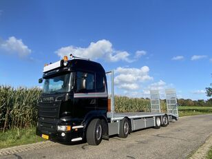 SCANIA R580   8x2*6   HYDRO-RAMPS   FULL AIR   LOW LOADER   LOW KM camión portacoches