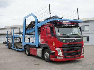 VOLVO FM13 460 Járműszállító csörlővel  camión portacoches