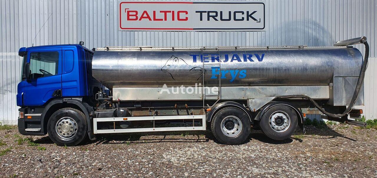 SCANIA P340 (ANIMAL FEED TRUCK) camión silo