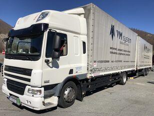 DAF Cf 75 310 camión toldo + remolque toldo