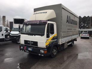 MAN 11.224 new motor camión toldo