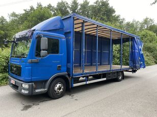 MAN TGL 12.220 BL EEV , 7,20m , 6-Gänge manuall, Klima, TOP camión toldo