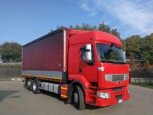 RENAULT PREMIUM 450.260 6X2 EURO 5, TELONATO 7 METRI + GANCIO TRAINO camión toldo