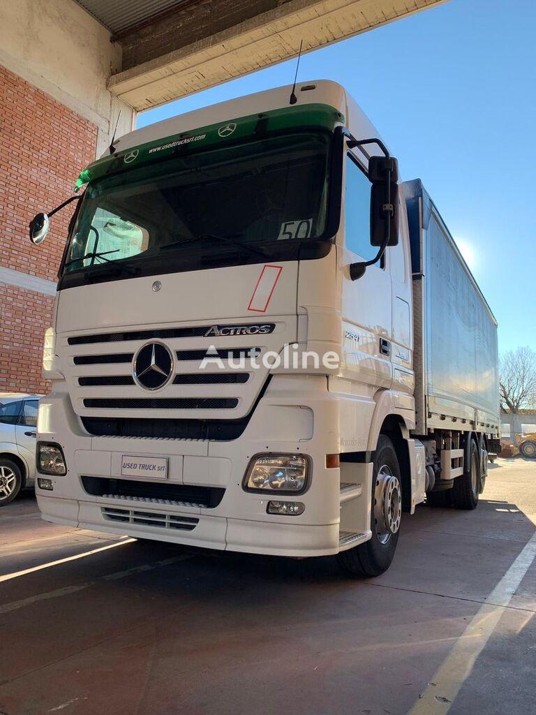 MERCEDES-BENZ Actros 2541 camión toldo