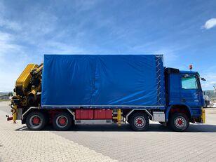 MERCEDES-BENZ Actros 4154   camión toldo