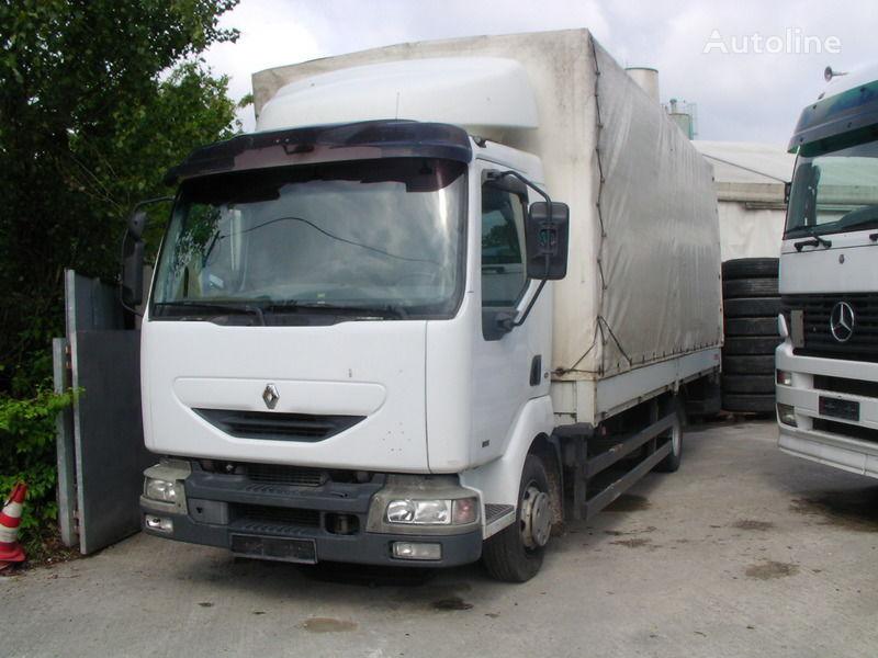 camión toldo RENAULT Midlum 150 Pritsche / Plane