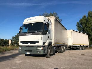 RENAULT PREMIUM  420 DCI + biga Omar camión toldo
