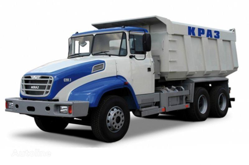 camión volquete KRAZ S18.1