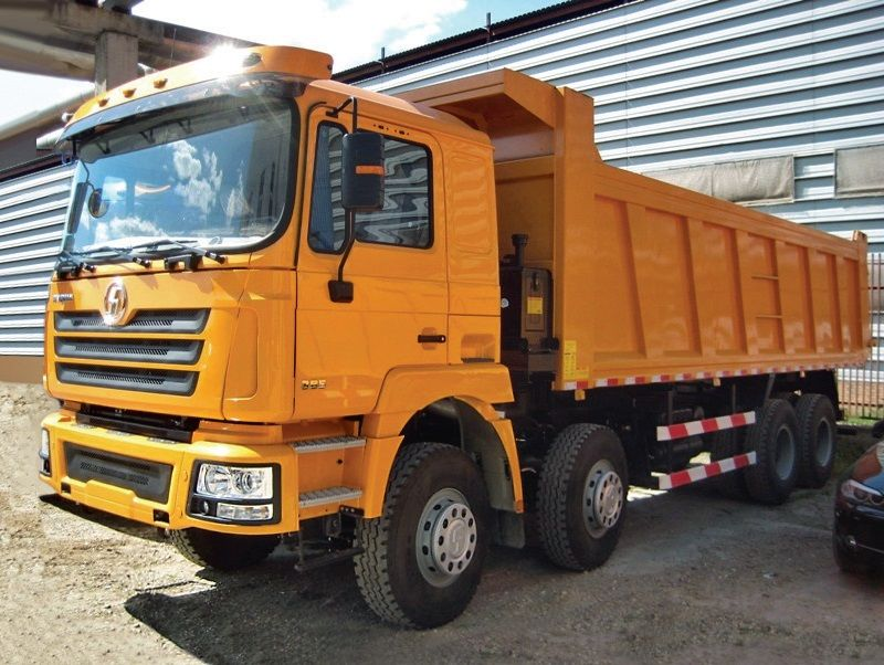 camión volquete SHACMAN SHAANXI F3000 8x4 nuevo
