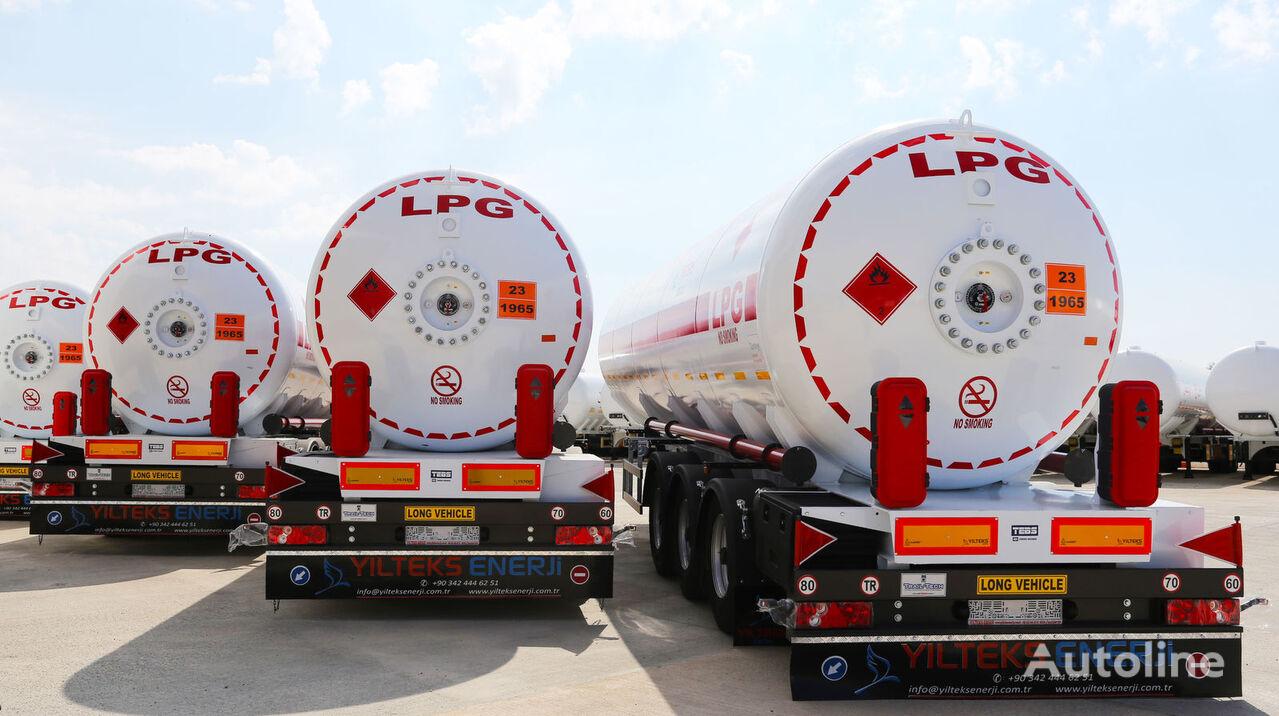 YILTEKS 45 M3 LPG SEMI TRAILER  cisterna de gas nueva