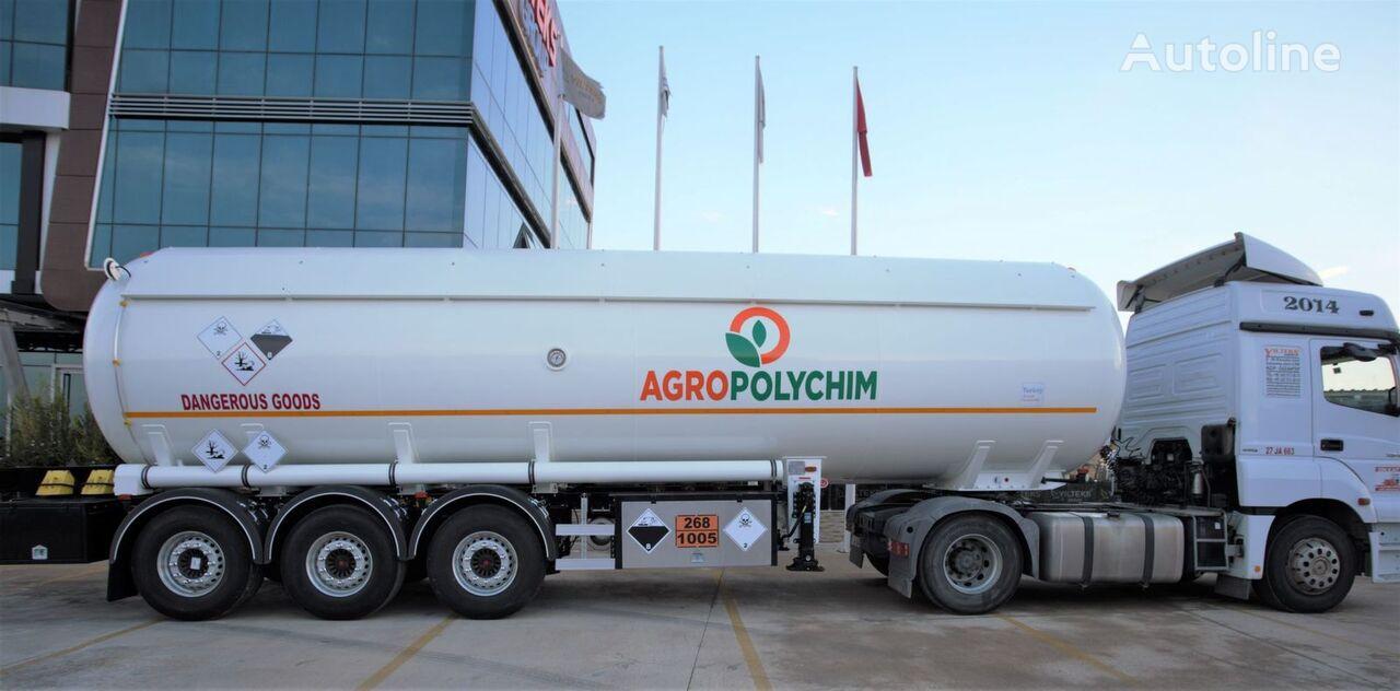 YILTEKS ADR AMMONIA SEMI TRAILER  cisterna de gas nueva