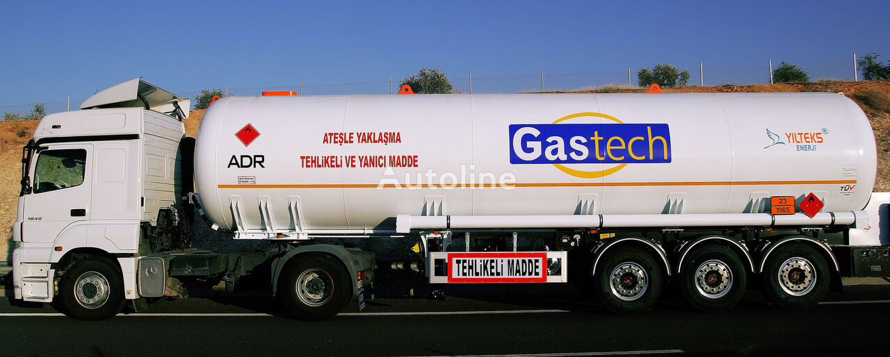 cisterna de gas YILTEKS LPG Semi - Trailer with ADR nueva