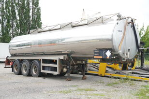 BALE VTS 28.000l , steinless steel , lift axle  cisterna química