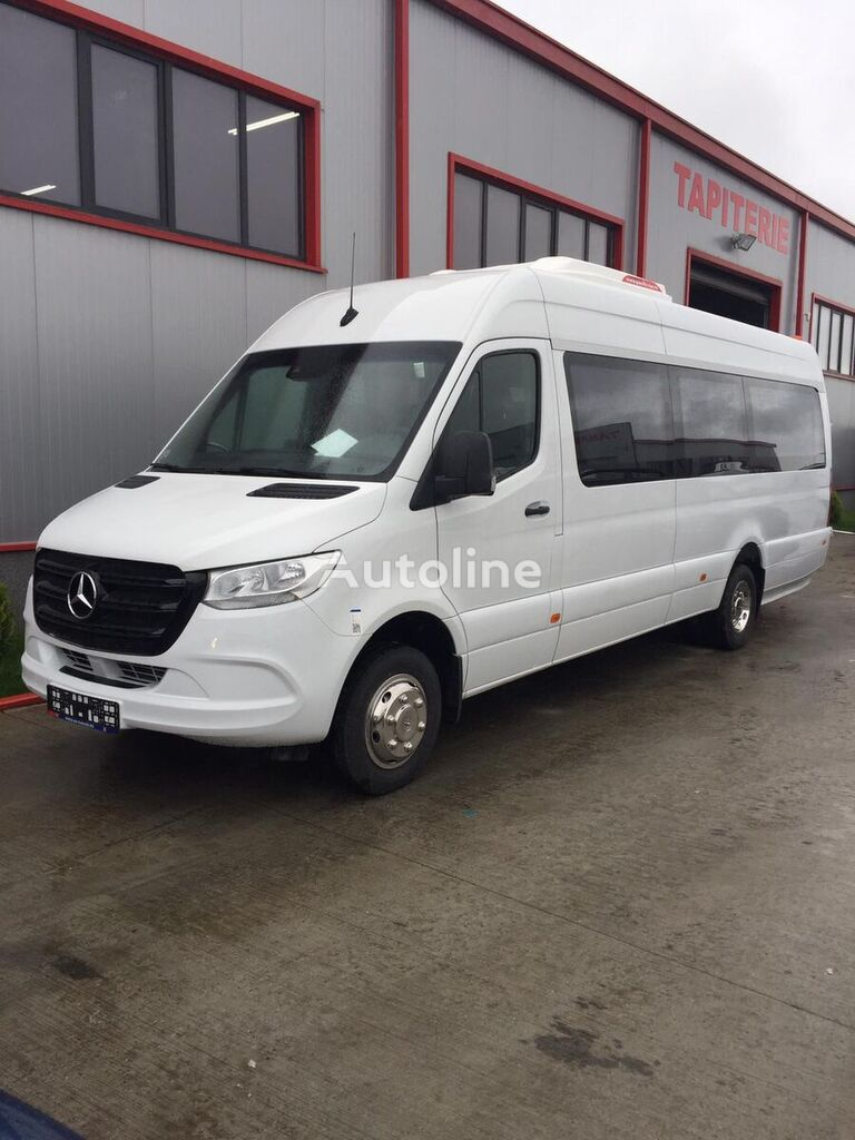 furgoneta de pasajeros MERCEDES-BENZ Sprinter IDILIS 516,  22+1+1  *COC*  prolonged with 50cm fiber/s nueva