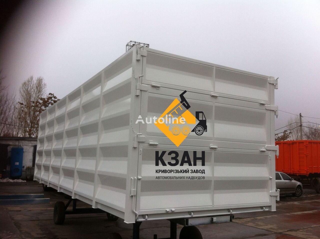 BDF, bortovoy kuzov, konteyner carrocería intercambiable furgón nueva