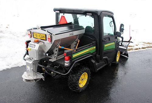 Hilltip IceStriker™ 380 Stainless Steel Spreader for pickups and UTVs esparcidor suspendido de sal nuevo