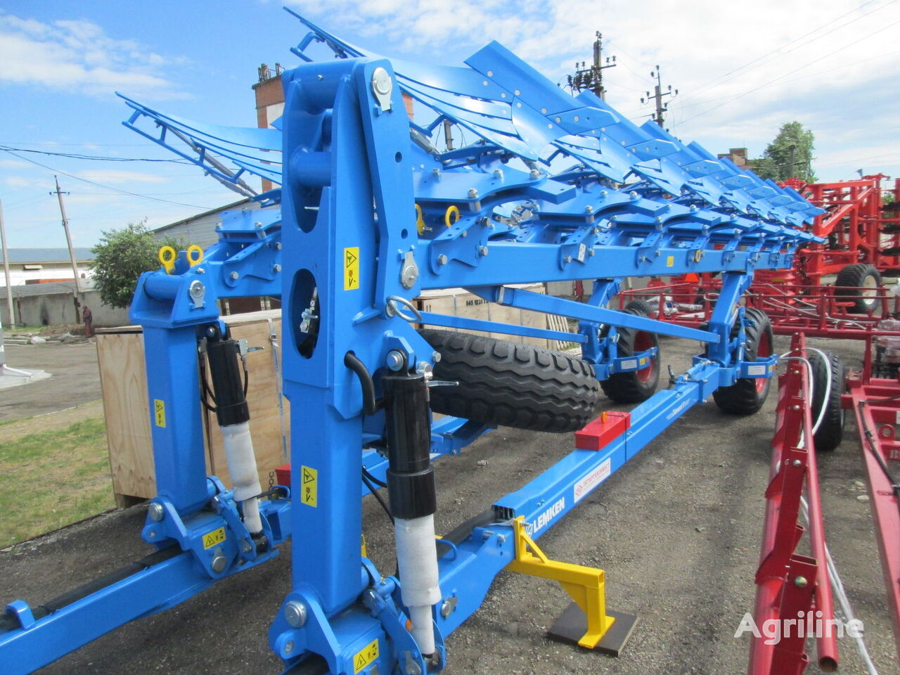 arado reversible LEMKEN Diamant 11 (7+1) On-Land nuevo