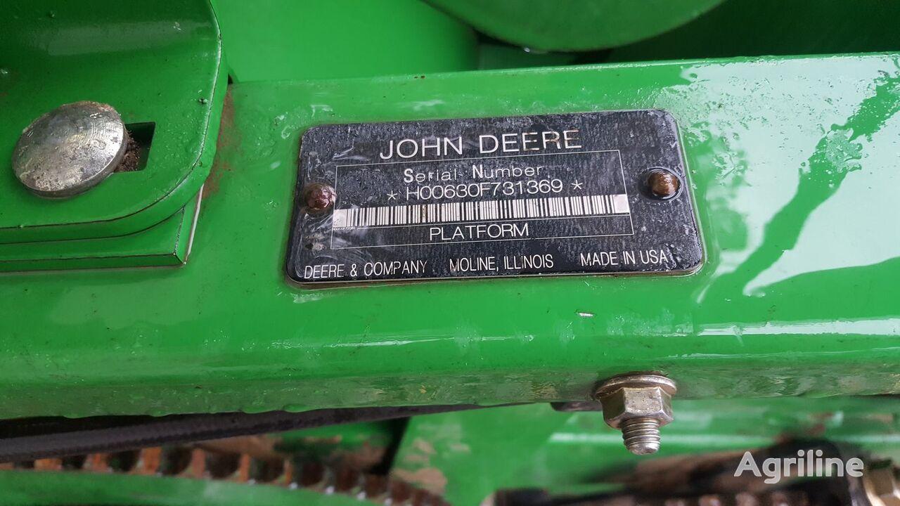 JOHN DEERE F630 Hydra Flex  cabezal de grano