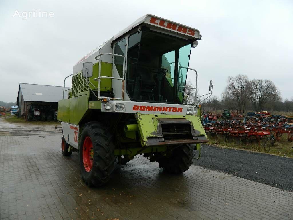 CLAAS Dominator 78 S cosechadora de cereales