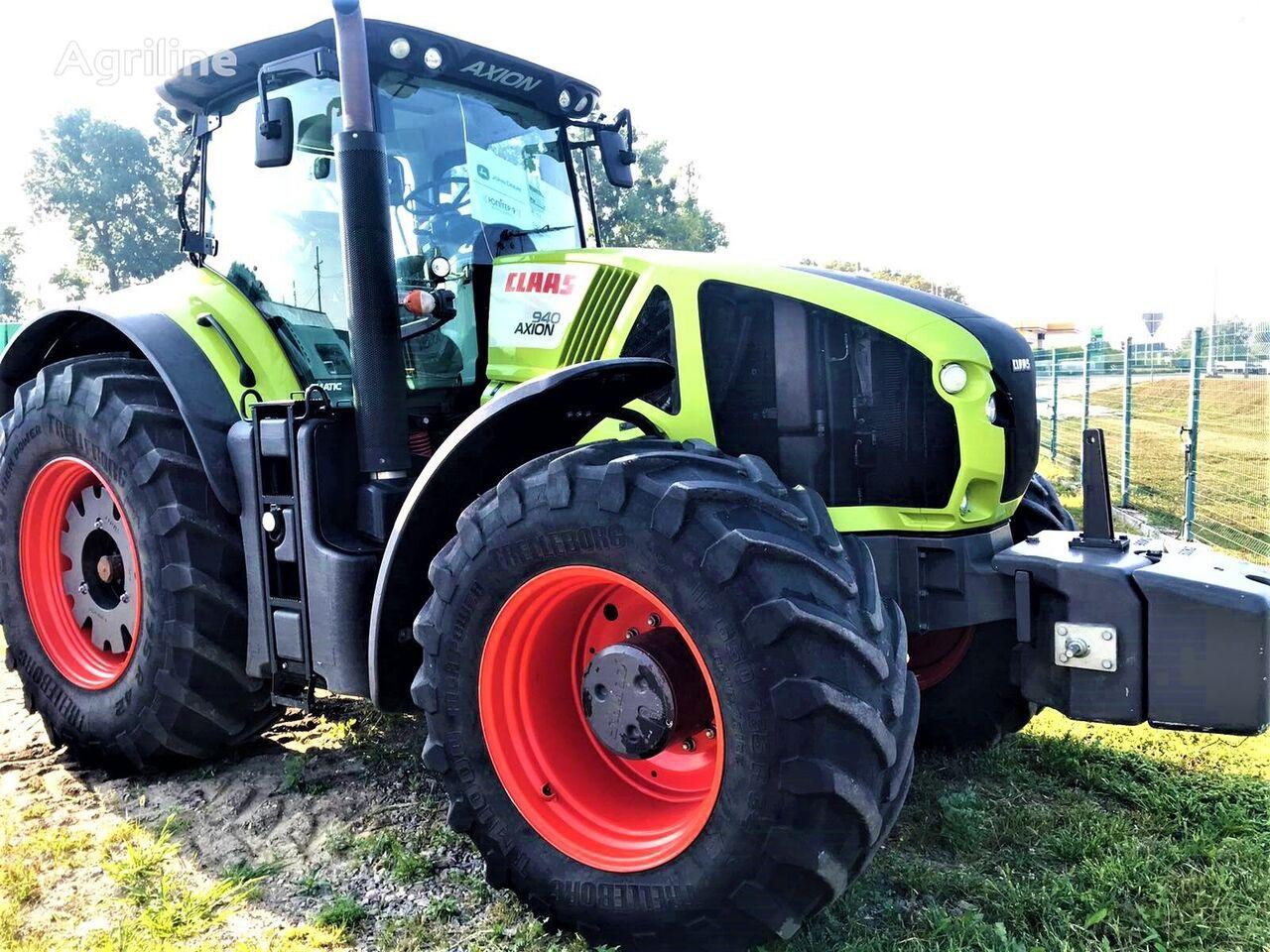 CLAAS Axion 940 tractor de ruedas